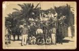 Cpa Carte Photo De Tunisie Bizerte Souvenir Corso De Bizerte 19 Avril 1925 Char Des Matelots équipages Sous Marins NW30 - Tunisie