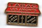 Tabac , Les Amonts , Loto PMU - Pin's & Anstecknadeln