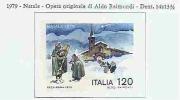 ITALY - ITALIA - 1979 - CHRISTMAS  - Yvert # 1410  - MNH - 6. 1946-.. Repubblica