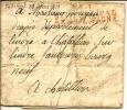 """POSTE Aux ARMEES:""""bureau N°1 Bureau Principal Armée D´espagne"""" Linéaire Rouge Camp De Porto Réal - Documents Historiques"""