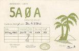 QSL-CARDS - AK 93936 Libya - Benghazi - Radio Amateur