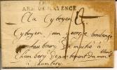 POSTE Aux ARMEES:,armée De Mayence,garnison De Veiflar Pour Chambéry - Documents Historiques