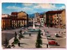 CUNEO--ALBA--PIAZZA SAVONA--ANIMATA--AUTO--DISTRIBUTORE BENZINA--FG--V 22-8-1967 - Cuneo