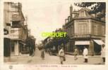 """Cpa 58 Cosne, Avenue De La Gare, Animée, Commerces, Hotel, Pub """" Anisalo """" - Cosne Cours Sur Loire"""