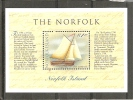 Norfolk Isl. Scott # 664 MNH. S/sheet Norfolk Bicentennial 1998 - Norfolk Eiland