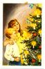 Nystrom Signed God Jul Merry Christmas Mini Postcard - Non Classificati