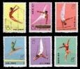 (056) PR China / Chine  1974 / Sport / Gymnastics / T1   Mnh / **   Michel 1162-67 - Unused Stamps