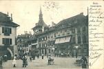 Bern  Theaterplatz Cpa 1907 - BE Berne