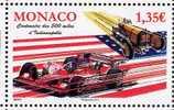 MONACO - CENTENAIRE DES 500 MILES D´INDIANAPOLIS - 1 V      NEUF** - 2011 - Voitures