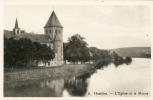 HASTIERE. L'église Et La Meuse - Hastière