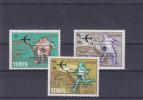 Jeux Olympiques - Mexicoe 1968 - Yemen - Série De 1966  ** - MNH - Avions - Football - Ahtlétisme - Summer 1968: Mexico City