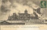 51 - REIMS - La Cathédrale Côté Nord Incendiée Par Les Allemands.... - Reims