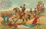 Mai 1905, ALPHONSE XIII Roi D'Espagne, Alliance Franco Espagnole. 2 Scans. - Sátiras
