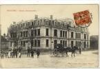 Carte Postale Ancienne Beaune - Ecole Communale - Attelage - Beaune