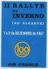 Ancienne Publicité Papier 1967 Automobile RALLYE ALGARVE PORTUGAL  RACING CAR Rally COURSE AIR FRANCE - Advertising
