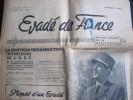 Évadé De France, Janvier 1946 (Union Des Évadés De France) 6 Pages - Journaux - Quotidiens