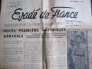 Évadé De France, Décembre 1945 (Union Des Évadés De France) 4 Pages - Journaux - Quotidiens