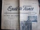 Évadé De France, Mars 1946 (Union Des Évadés De France) 6 Pages - Journaux - Quotidiens