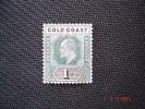Gold Coast 1902 K.Edward VII   1/-  SG 44   MH - Gold Coast (...-1957)