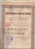VENDIN LEZ BETHUNE   Compagnie Des Charbonnages   Action De Jouissance Au Porteur  1.09.1917 - Shareholdings