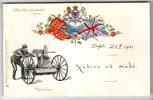 Maxim Gun - Tuck Empire Postcard 261 - Embossed Postcard 1901 - Equipment