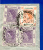 Cover Air Mail Stamps KONG KONG China 1954to PORTUGAL - Otros