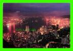 HONG KONG, CHINA - THE CITY AT NIGHT - - Chine (Hong Kong)