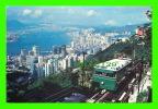 HONG KONG, CHINA - A PEAK TRAM CLIMBING THE HIGHEST PEAK ON HONG KONG ISLAND - - - Chine (Hong Kong)
