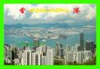 HONG KONG, CHINA - HONG KONG & KOWLOON FROM THE PEAK - - Chine (Hong Kong)