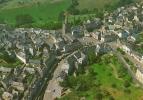 GENERAL AERIAL VIEW OF DONZENAC, CORREZE, FRANCE. - Andere Gemeenten