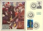 """CDG 5 """" Exposition Timbre Sur La Libération """" Lille 8-9/11/1980"""