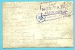 Fotokaart Met Stempel SOLTAU Naar VERVIERS - WW I