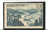 POSTE AERIENNE  Vallée De La Sarre  N° 10 ** - Poste Aérienne