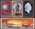 Samoa 1970 Cook's Exploration Of The Pacific MNH - Samoa