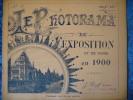 -Le Photorama De L´Exposition De 1900-N°33- - Reizen En Ontspanning