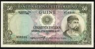 PORTUGUESE GUINEA : 50 Escudos  - 1971 - P44 - UNC - Guinea