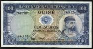 PORTUGUESE GUINEA : 100 Escudos  - 1971 - P45 - UNC - Guinea