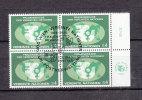NATIONS  UNIES  VIENNE BLOC DE 4  1980   N°  9   OBLITERE       CATALOGUE    YVERT&TELLIER - Centre International De Vienne