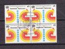 NATIONS  UNIES  VIENNE BLOC DE 4  1980   N° 11   OBLITERE       CATALOGUE    YVERT&TELLIER - Centre International De Vienne