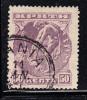 Crete Scott #67 Used 50 L Hermes Lilac No Overprint - Crète