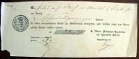 1851 Württemberg Postschein Der Fahrenden Posten - Deutschland