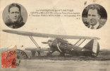 LES VAINQUEUERS DE L ATLANTIQUE COSTE ET BELLONTE ET L AVION POINT D INTERROGATION - Airmen, Fliers