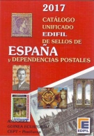 ESLI-L4182TSC.España Spain Espagne LIBRO CATALOGO  DE SELLOS EDIFIL 2017.¡¡¡¡¡¡¡¡¡¡¡¡NOVEDAD! !!!!!!!!!! - Autres