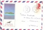 Océanie - Polynésie Française - Tahiti - Poste Aux Armées Avec Correspondance, Par Avion Concorde - Polynésie Française