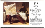 G.B.: 1985'The Story Of The Times' Stamp Booklet SG DX6 - Booklets