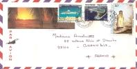 Océanie - Polynésie Française - Tahiti - Papeete, Par Avion Concorde, Lettre Avec Correspondance - Tahiti