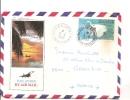 Océanie - Polynésie Française - Tahiti - Cachet  Papeete, Par Avion Concorde, Lettre Avec Correspondance - Tahiti