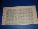 N° 734 En Demi Feuille De  50 Timbres Neuf** - Full Sheets