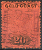 GOLD COAST 1894 - Mi.21 (Yv.35, Sc.25) Used (perfect) VF - Costa D'Oro (...-1957)
