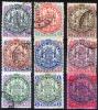 BRITISH SOUTH AFRICA COMPANY 1896 - Ex Yv.28-41 (ex Mi.26-38) - Grossbritannien (alte Kolonien Und Herrschaften)